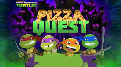 تصویر از تلاش برای پیتزا - بازی آنلاین لاک پشت های نینجا