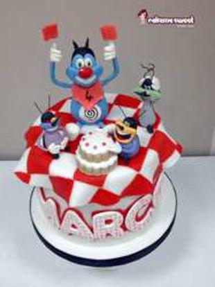 تصویر از اوگی - تصویر تم تولد اوگی و سوسک ها