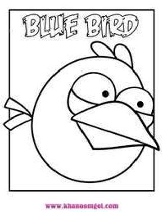 تصویر از AngryBird1 - تصویر رنگ آمیزی انگری بردز