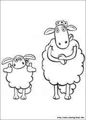 تصویر از Sheep10 - تصویر رنگ آمیزی بره ناقلا