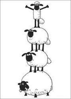 تصویر از Sheep16 - تصویر رنگ آمیزی بره ناقلا