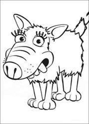تصویر از Sheep21 - تصویر رنگ آمیزی بره ناقلا