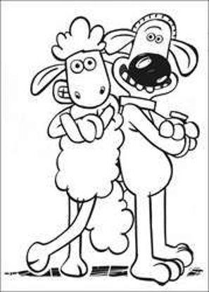 تصویر از Sheep27 - تصویر رنگ آمیزی بره ناقلا