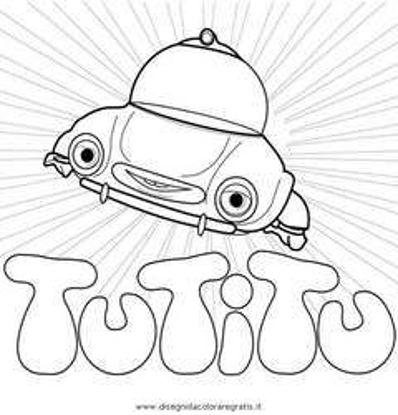 تصویر از Tutitu12 - تصویر رنگ آمیزی تو تی تو