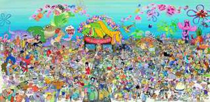 تصویر از باب اسفنجی - تصویر پس زمینه باب اسفنجی