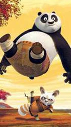 تصویر از پاندای کونگ فوکار - تصویر پس زمینه پاندای کونگ فو کار
