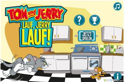 تصویر از اجرای جری - بازی آنلاین موش و گربه