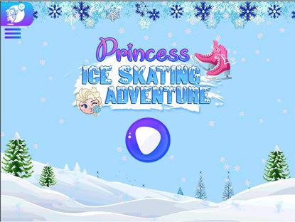 تصویر از اسکیت روی یخ پرنسس - بازی آنلاین فروزن