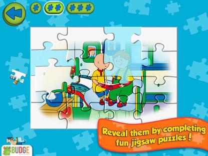 تصویر از Caillou House of Puzzles - بازی اندرویدی کایلو